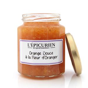 confiture orange douce les epicuriens