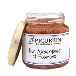 DUO AUBERGINES POIVRONS